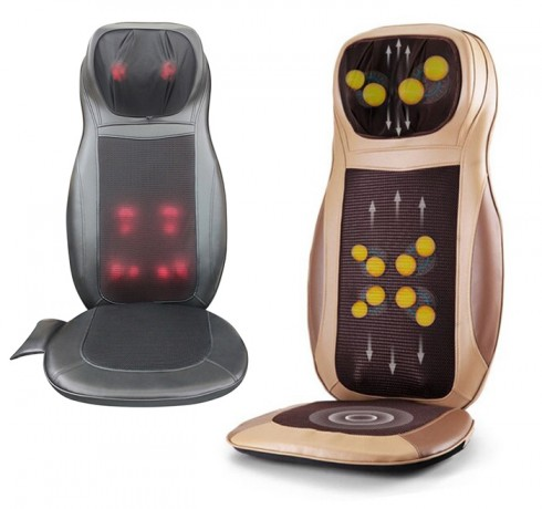 Ghế (đệm) massage ô tô toàn thân hồng ngoại sưởi ấm Puli PL-802B