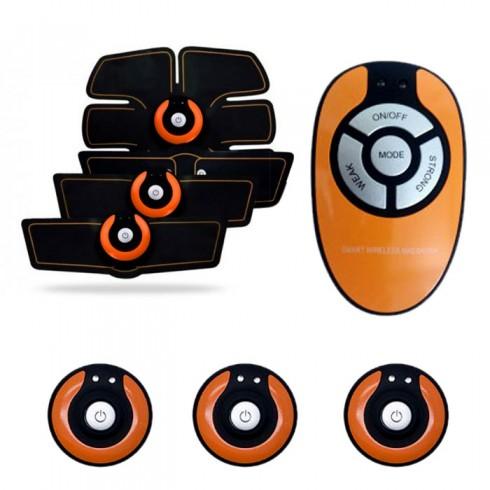Máy massage tạo cơ bụng 6 múi Smart Wireless Mobile GYM - Có Remote