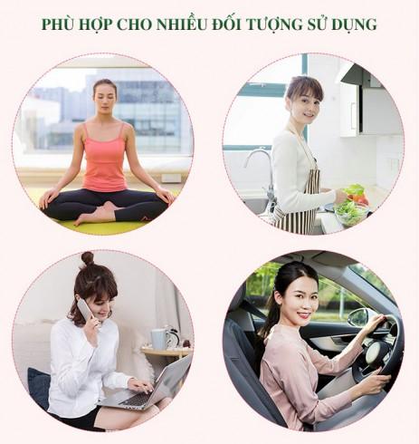 Đai massage bụng Nhật Bản Nikio NK-169 - Rung lắc xoay hồng ngoại