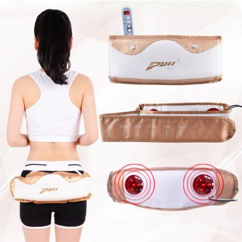 Máy massage giảm mỡ bụng Hàn Quốc Puli PL-912 - Đèn Hồng Ngoại
