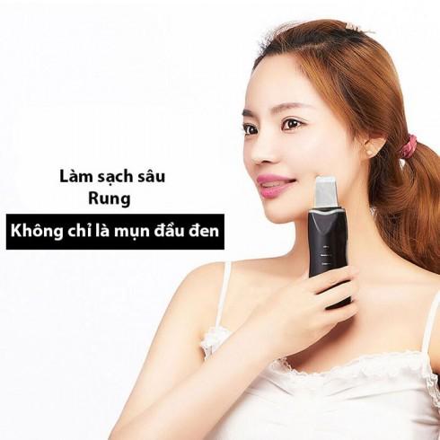 Máy cà sủi da đẩy mụn và tẩy tế bào chết Hàn Quốc Beauty Star
