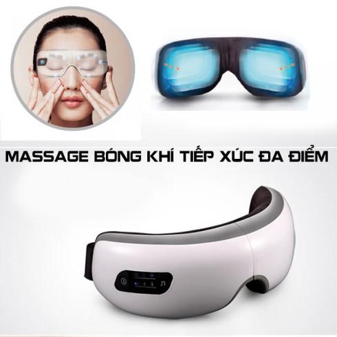 Máy massage mắt áp suất khí và nhiệt sưởi ấm thư giãn T8