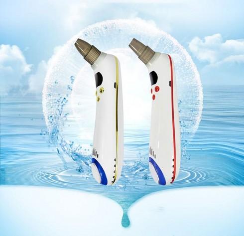 Máy hút mụn pin sạc có đầu massage nóng lạnh cao cấp SLL-21