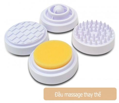 Máy massage mặt và tạo nóng 4 đầu Kolvin DH2