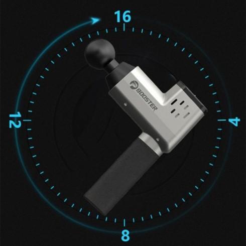 Súng massage gun cầm tay giảm đau nhức căng cơ Booster T - 126W