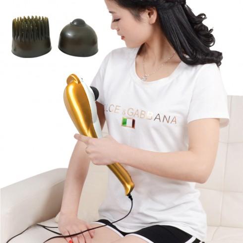 Máy massage cầm tay cá heo cao cấp 3 đầu Puli PL-606B