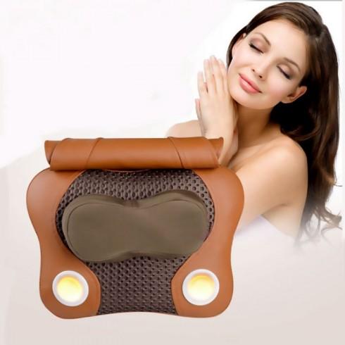 Máy massage đấm bóp cổ vai gáy lưng hồng ngoại PULI PL-809C