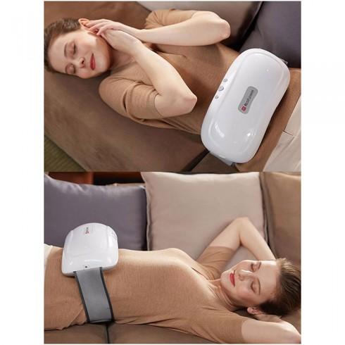 Đai massage bụng pin sạc xoay xoắn giảm mỡ bụng RED FLOWER RF-013S