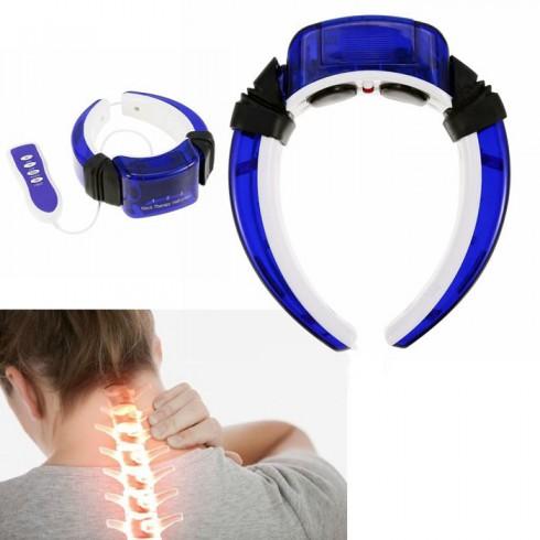 Máy massage cổ xung điện trị liệu rung PULI PL-718 - Pin