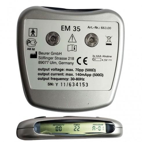 Đai massage bụng xung điện 4 cực Beurer EM35