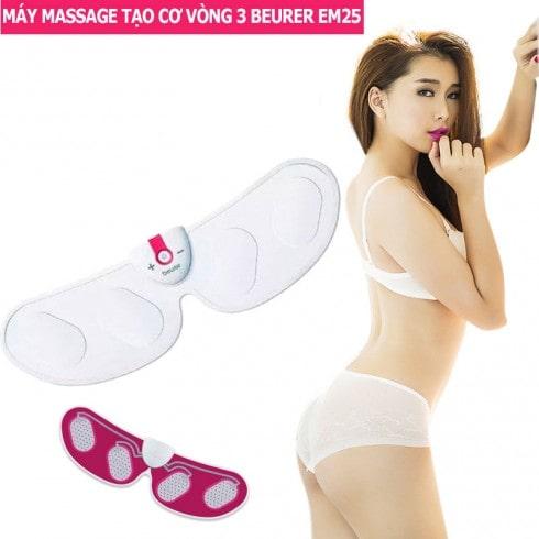Máy massage xung điện tạo cơ săn chắc vòng 3 Beurer EM25