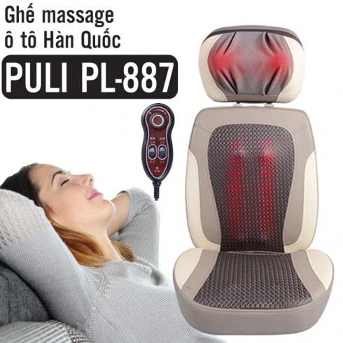 Ghế massage hồng ngoại cao cấp Hàn Quốc Puli PL-887