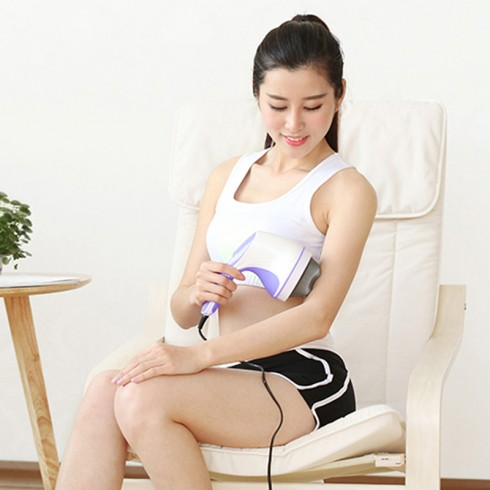 Máy massage cầm tay 4 đầu hồng ngoại Puli PL-603B