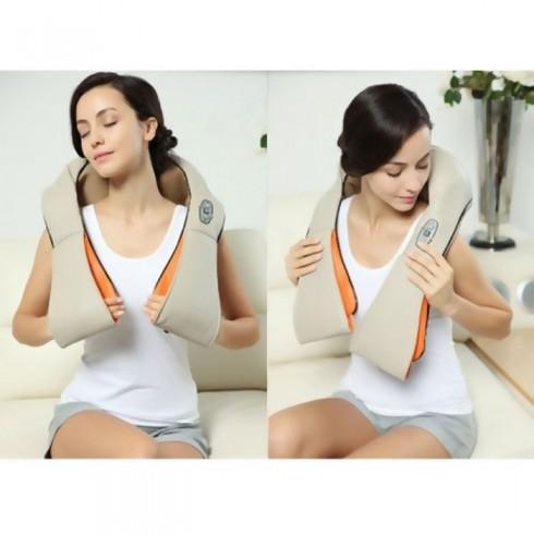 Máy massage vai cổ gáy hồng ngoại 8 bi PULI PL-901