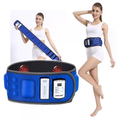 Đai massage pin sạc giảm mỡ bụng X6 Wireless Belt