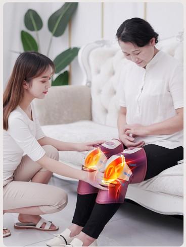 Máy massage đầu gối rung nóng Nhật Bản Nikio NK-185 - Pin sạc