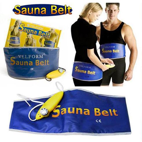 Giảm mỡ bụng cấp tốc với Đai quấn nóng Sauna Belt