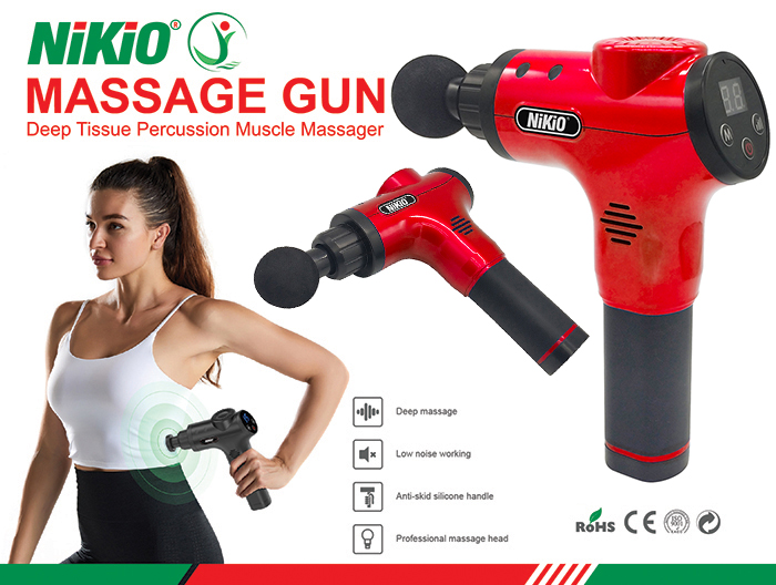 Video giới thiệu súng massage cơ bắp 6 đầu, 5 chế độ Nikio NK-170B - Hàng chính hãng Nhật Bản