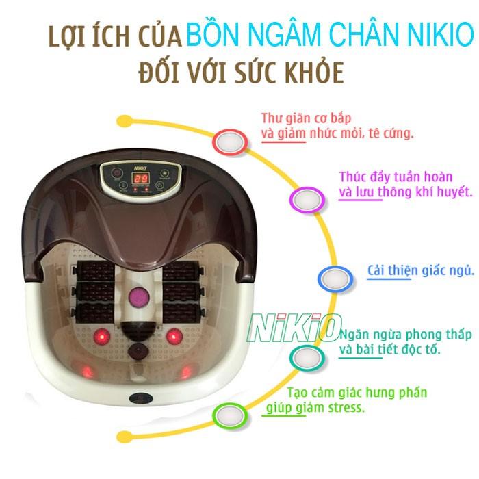 Video Bồn ngâm massage chân Nhật Bản Nikio NK-195 có thần kỳ như quảng cáo không? Khám phá ngay
