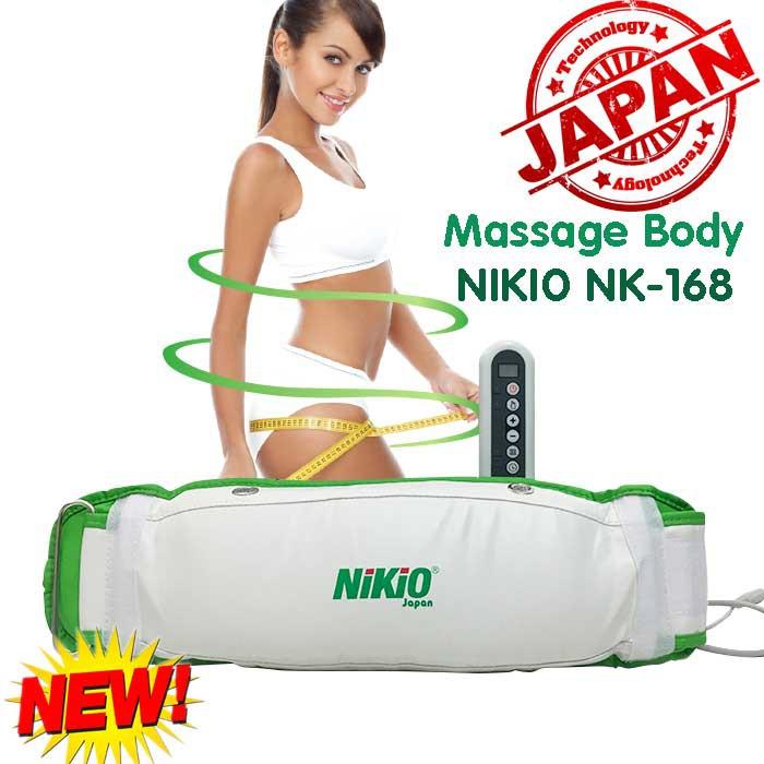 Video đai massage bụng rung nóng đa năng Nhật Bản Nikio NK168 - Hỗ trợ giảm mỡ thừa hiệu quả