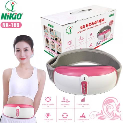Video giới thiệu đai massage bụng rung lắc và xoay giảm mỡ thừa Nikio NK-169 - đánh tan mỡ trong tích tắc