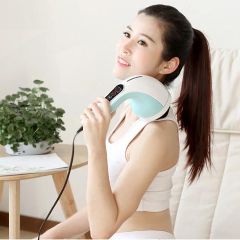 Video máy xa cầm tay 8 đầu Hàn Quốc Puli PL-607AC3 - công nghệ massage HÀN QUỐC