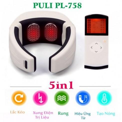 Video giới thiệu máy massage cổ xung điện rung tạo nóng pin sạc PULI PL-758 - giải pháp điều trị đau cổ hiệu quả
