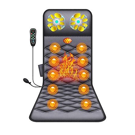Video giới thiệu Nệm massage toàn thân cao cấp Nikio NK-151 - Rung và nóng xoa bóp toàn thân, có gối massage cổ kết hợp túi khí