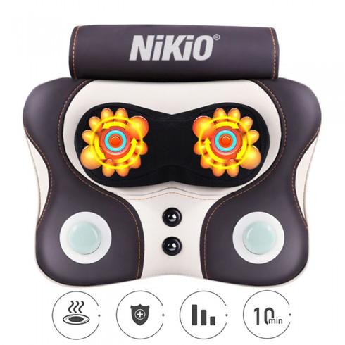 Video Máy đấm và massage lưng cổ vai gáy kết hợp hồng ngoại đa năng Niko NK-136AC - giải pháp điều trị đau nhức tại nhà