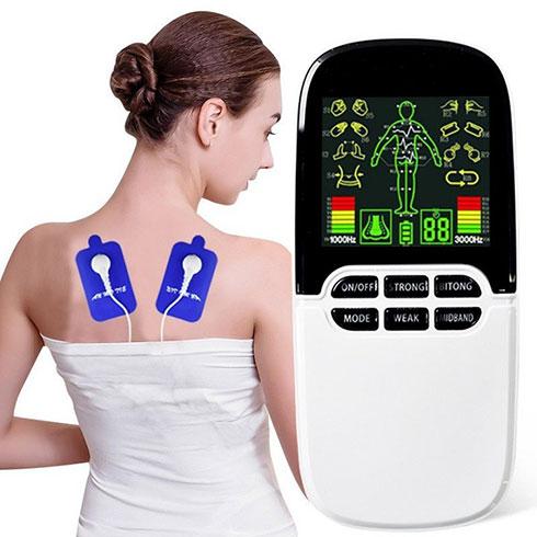 Video giới thiệu máy massage xung điện 8 miếng dán và đèn hồng ngoại JINGYAO JY-A818 - Dòng pin sạc cao cấp
