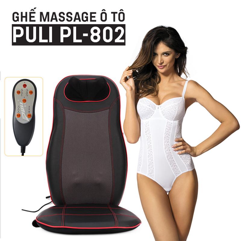 Video Gia Mụi review chất lượng của ghế massage toàn thân Puli PL-802 - Hàng chính hãng Hàn Quốc