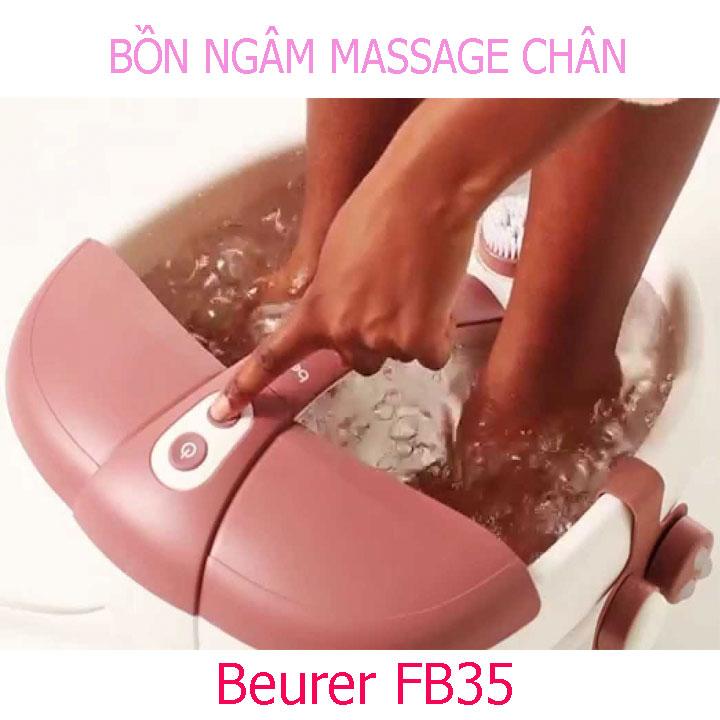 Video Review bồn ngâm massage chân hồng ngoại Beurer FB35 - Hàng chính hãng ĐỨC