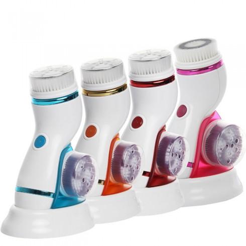 Video máy massage và rửa mặt pin sạc CNAIER AE-8286B 4 đầu - 4in1, hỗ trợ cải thiện làn da tối ưu
