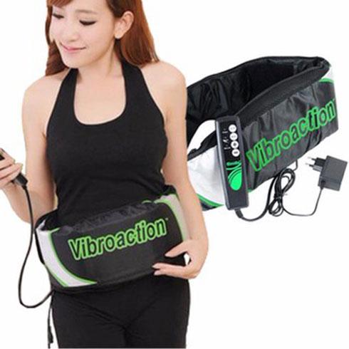 Review đai massage bụng Vibroaction và hướng dẫn cách sử dụng