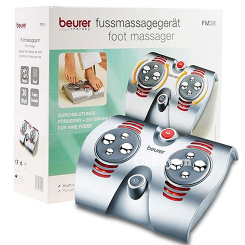 Máy massage chân Beurer FM-38 hồng ngoại, giảm đau nhức mỏi, tê chân