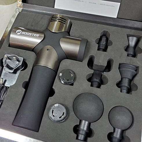 Test thử sức mạnh của Súng massage gun cao cấp Mỹ Booster PRO 3