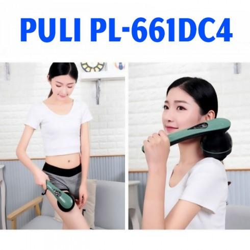 Video máy massage cầm tay pin sạc 8 đầu PULI PL-661DC4 - công nghệ massage HÀN QUỐC