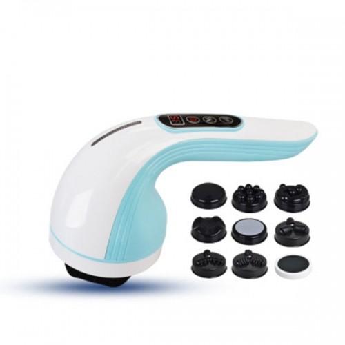 Máy massage cầm tay pin sạc Puli PL-607DC3 - 8 đầu xua tan mọi cơn đau