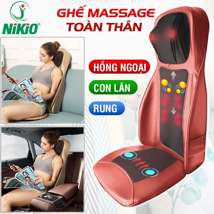 Video Review ghế massage hồng ngoại cao cấp Nikio NK-180 - giải pháp thư giãn toàn thân