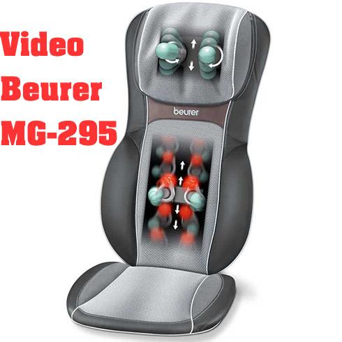 Đệm massage toàn thân xua tan đau mọi hồng ngoại 3D Beurer MG-295