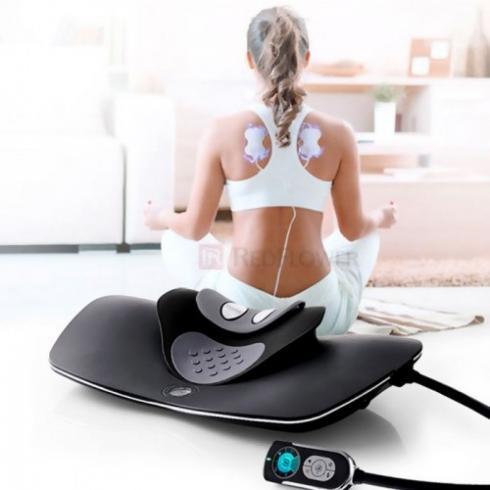 Video Máy massage cổ xung điện kết hợp áp suất khí RED FLOWER RF-022 - xua tan cơn đau mỏi cổ tức thì