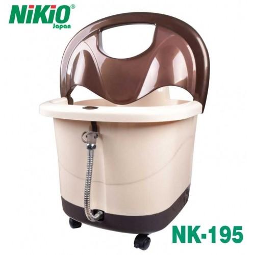 Giảm đau mỏi chân thần tốc với bồn ngâm và massage chân Nikio NK-195