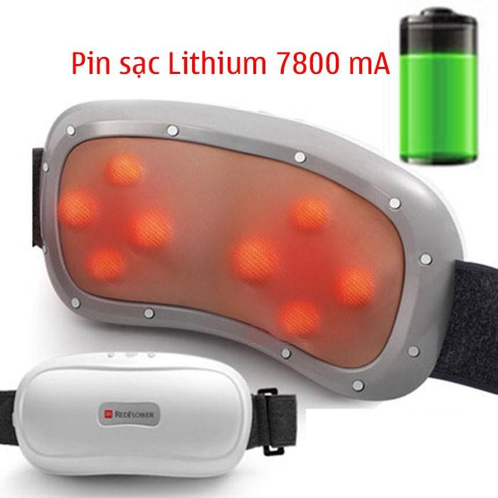 Video máy massage bụng pin sạc xoay xoắn giảm mỡ bụng RED FLOWER RF-013S